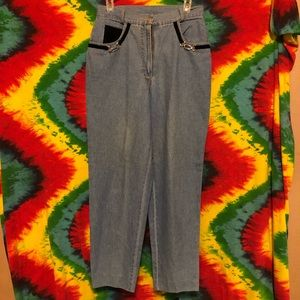 Vintage high waisted mom jeans by The La Costa Spa